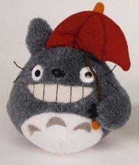 Mein Nachbar Totoro Plüschfigur Totoro Red Umbrella 15 cm