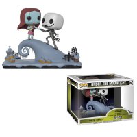 Nightmare before Christmas POP! Movie Moments Vinyl Wackelkopf Figuren 2er-Pack Jack & Sally 9 cm
