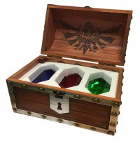 Legend of Zelda Briefbeschwerer 3er-Pack Rubin-Truhe