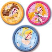 Disney Princess: Dornröschen große Wanduhr (25cm) 3-fach sortiert