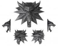 Witcher 3 Wild Hunt Wand-Skulptur Wolf 15 x 15 cm
