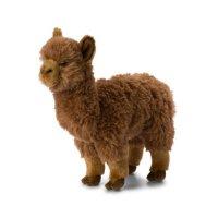 WWF Plüschtier Alpaca braun 31 cm