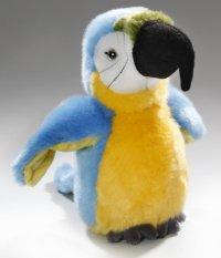 Papagei blau-gelb ca.20 cm