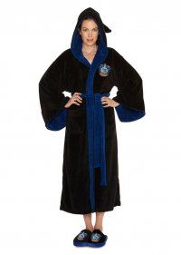 Harry Potter Girlie Fleece-Bademantel Ravenclaw