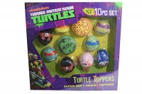 Nickelodeon Turtles 10-er Mini Plüsch Finger Figuren