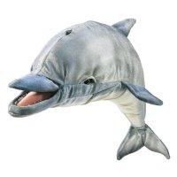 Handpuppe Delfin, mit Soundeffekt