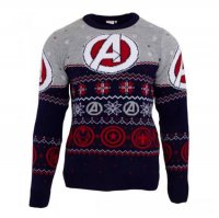 Marvel Comics Sweatshirt Christmas Jumper Avengers Assemble