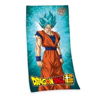 Dragon Ball Super Handtuch Super Saiyajin God Super Saiyajin Son Goku 150 x 75 cm