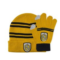 Harry Potter Kids Beanie & Handschuhe Set Hufflepuff