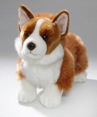Corgi Hund stehend 35 cm