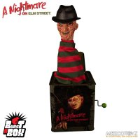 Nightmare On Elm Street Burst-A-Box Springteufel Spieluhr Freddy Krueger 36 cm