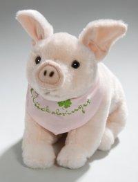 Schwein mit Tuch Glücksbringer 22 cm