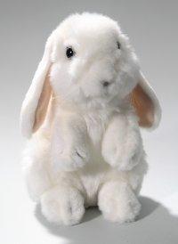 Schnee-Hase stehend 18 cm