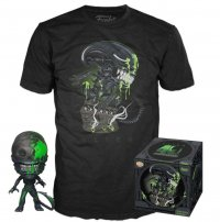 Alien POP! & Tee Vinyl Figur & T-Shirt Set 40th Xenomorph heo Exclusive