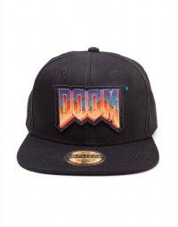 Doom Snapback Cap Label