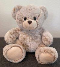 Bär sitzend superweich beige 25 cm