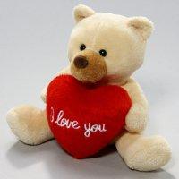 Bär mit Herz 13 cm