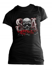 Sons Of Anarchy Girlie T-Shirt Due Tone Gr. M