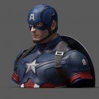 Avengers Endgame Spardose Captain America 20 cm