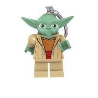 LEGO Star Wars Schlüsselanhänger mit Leuchtfunktion Yoda 6 cm