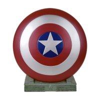 Marvel Spardose Captain America Shield 25 cm