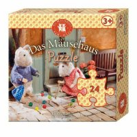 Kinderpuzzle Das Mäusehaus 24 Teile