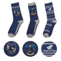 Harry Potter Socken 3er-Pack Ravenclaw