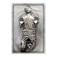 Star Wars Iconic Scene Collection Metallbarren Han Solo Limited Edition