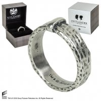 Outlander Claire's Wedding Ring (Sterling Silber) Gr. 07