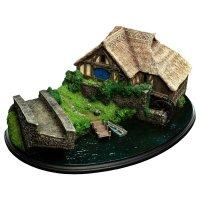 Der Hobbit: Eine unerwartete Reise Diorama Hobbiton Mill & Bridge 31 x 17 cm