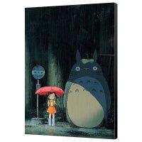 Mein Nachbar Totoro Holzdruck Totoro 35 x 50 cm