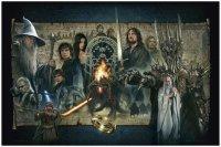 Herr der Ringe Giclee Kunstdruck The Fellowship of the Ring 61 x 91 cm