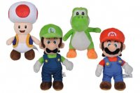 Super Mario Plüschfiguren All Stars 20 cm Sortiment (12)