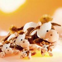 Plüschtier Kuh Selma liegend 15 cm