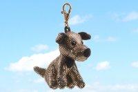 Anhänger Glitzer & Glamour Terrier ca. 12 cm
