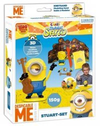 Minions Stuart-Set Magic Sand 150 gr. 18x22 cm