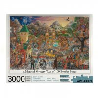 The Beatles Puzzle Magical Mystery Tour (3000 Teile)
