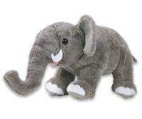 Plüsch Elefant grau 22 cm