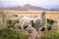 Kösener-Elefant, klein, liegend