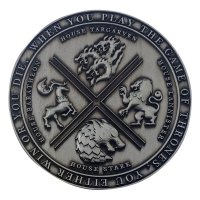 Game of Thrones Medaille Iron Limited Edition