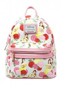 Disney by Loungefly Rucksack Beauty and the Beast Belle Rose AOP heo Exclusive