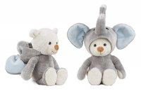 Hoodie-Bär TeddyFant blue 27 cm