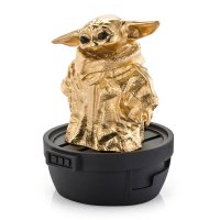 Star Wars The Mandalorian Pewter Collectible Statue Grogu (Gilt) Limited Edition 6 cm