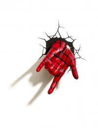 Ultimate Spider-Man 3D LED Leuchte Spider-Man Hand