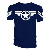 Marvel T-Shirt Steve Rogers Super Soldier Uniform