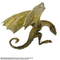 Game of Thrones Skulptur Rhaegal Baby Dragon 12 cm