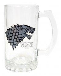 Game of Thrones Bierglas Stark